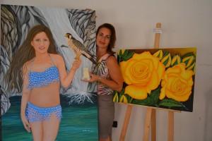 Premio Hellas 2015, riconoscimento in Grecia per la pittrice calabrese Angela Loprete