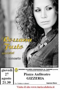 """Il concerto di Rossana Fusto apre """"La Calabria e' talento"""""""