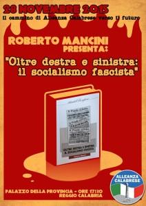 """Presentazione saggio """"Oltre destra e sinistra: Il socialismo Fascista"""""""