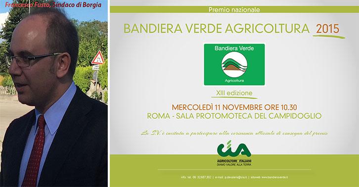 Borgia -Bandiera Verde2015 al comune