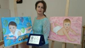 Un autunno ricco di riconoscimenti per la pittrice Angela Loprete