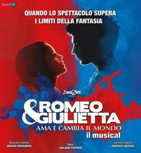 """Arriva a Reggio Calabria la straordinaria Opera Musicale """"Romeo e Giulietta – Ama e cambia il mondo"""""""