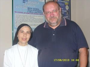 foto Suor Maria Teresa e Don Fortunato