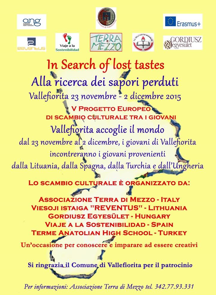 in search of lost tastes 2 VOLANTINO E MANIFESTO progetto con loghi istituzioni copia