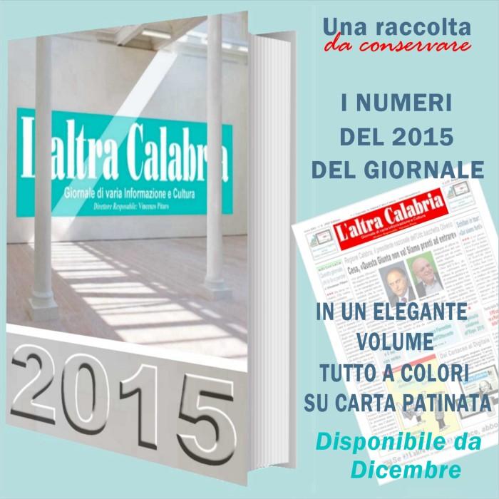 laltracalabria - in un volume tutti i numeri del 2015