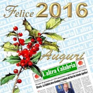 Il giornale L'altra Calabria – Numero di Gennaio 2016