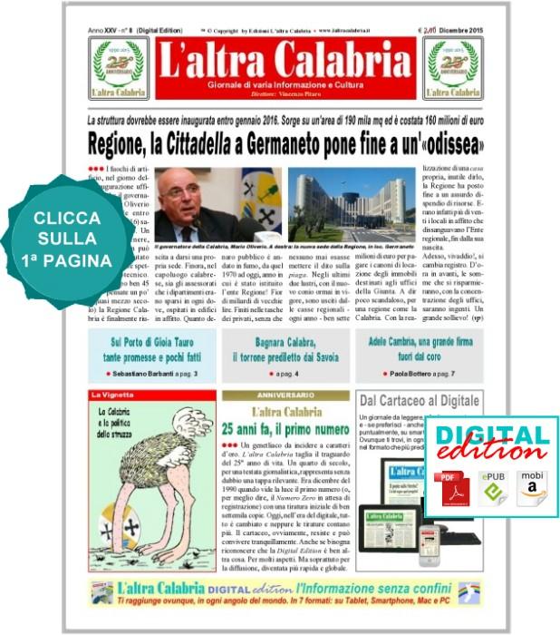 L'altra Calabria - Dicembre 2015