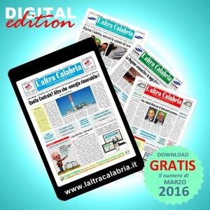 Il giornale L'altra Calabria – Numero di Marzo 2016