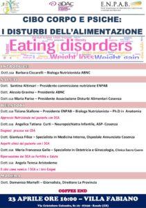 Convegno organizzato dall'Associazione Biologi Nutrizionisti Calabresi