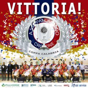 Pallamano – Puliverde Crotone conquista la Coppa Calabria