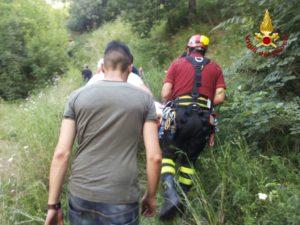 Recuperato dai Vigili del fuoco il corpo di un anziano nell'alveo di un fiume