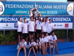 Nuoto – Campionati Esordienti A/B estivi, ottimi risultati per la Calabria Swim Race