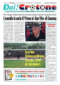 Nasce «Dai! Crotone», il giornale dei tifosi rossoblu in Serie A
