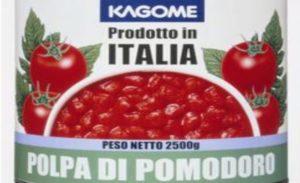 Cina – Pezzi di metallo nella lattine della polpa di pomodoro prodotto in Italia