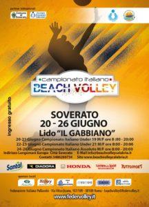 Campionato nazionale di beach volley a Soverato