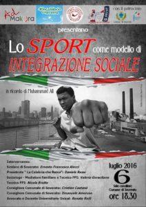 """Soverato – Mercoledì 6 luglio il Convegno """"Lo sport come modello di integrazione sociale"""""""