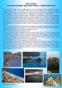Gita da Soverato a Scilla e Monte S. Elia con gita in barca sulla Costa Viola
