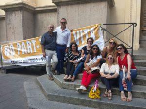 Protesta dei 17 part time dei centri impiego di Catanzaro, Lamezia e Soverato con sit in Prefettura ed oggi alla Regione Calabria