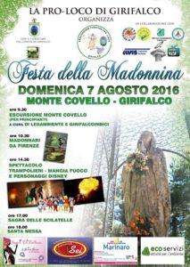 """Girifalco – Domenica 7 Agosto la """"Festa della Madonnina"""""""
