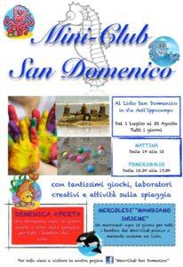 Mini Club al Lido San Domenico di Soverato