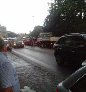 Incidente stradale sulla SS 106 a Davoli