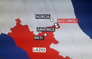 Forte scossa di terremoto nella notte nel Centro Italia, vittime