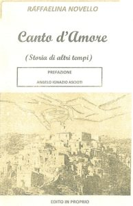 """Per il """"Canto d'Amore"""" di Raffaelina Novello"""