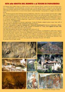 Domenica 30 Ottobre gita da Soverato alla Grotta del Romito e ai tesori di Papasidero