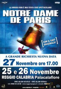 Grande attesa a Reggio Calabria per l'Opera Musicale Notre Dame De Paris di Riccardo Cocciante