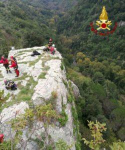 Gimigliano – Addestramento del nucleo speleo alpino fluviale