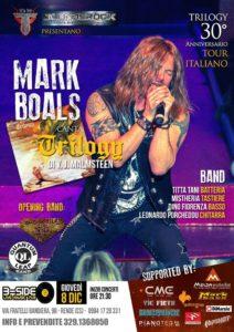 """Musica: Mark Boals in Calabria per il 30° anniversario di """"Trilogy"""", capolavoro di Yngwie Malmsteen"""