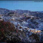 La Calabria stretta nella morsa del gelo, nevicata a Catanzaro
