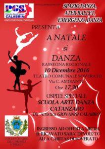 """Soverato – Sabato 10 Dicembre la rassegna regionale """"A Natale si Danza"""""""