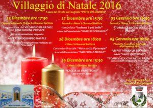 """A Montepaone Lido dal 23 Dicembre al 05 Gennaio il """"Villaggio di Natale"""""""