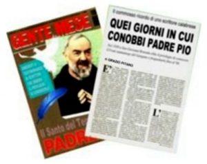 In omaggio l'e-Book su Padre Pio del prof. Grazio Pitaro
