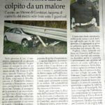 Agente fuori servizio salva automobilista colpito da un malore