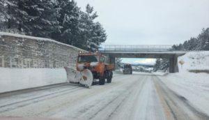 Persiste il maltempo in Calabria. Pioggia, vento, neve e temperature gelide