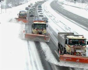 Maltempo – Prosegue l'attività delle squadre Anas sulle strade del Centro Sud interessate dalle nevicate