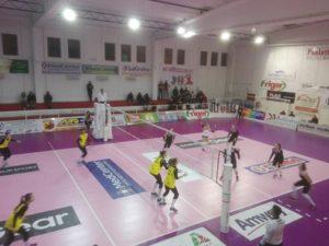 Il Volley Soverato perde per tre set a uno l'andata dei quarti di finale di coppa Italia