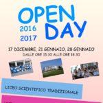 """Il 21 e 28 Gennaio Open Day al Liceo Scientifico St. """"A. Guarasci"""" di Soverato"""