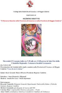Migliorare l'assistenza nel percorso nascita in Calabria e garantire la scelta del luogo del parto
