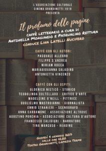 """Lamezia Terme – Domani al teatro Grandinetti """"Il profumo delle pagine"""""""