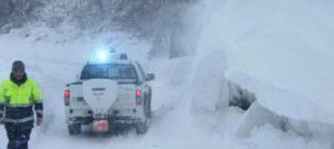 Maltempo, Anas: nevica nelle regioni del Centro Sud