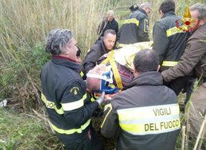 Anziano disperso, ritrovato sano e salvo dai Vigili del fuoco