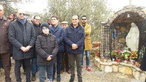 Catanzaro – Restituita alla comunità la statua della Madonnina di Medjugorie