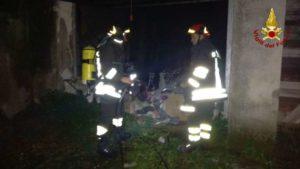 Catanzaro – Scoppia bombola da campeggio, intervento dei Vigili del fuoco
