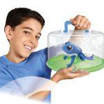 Maxi ritiro per rischio chimico giocattolo Lil rana e Lily Pad Playset con pile a bottone