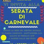 Nuovo direttivo e Festa di Carnevale al Centro Sociale Anziani Bruno Genco di Sant'Andrea Jonio