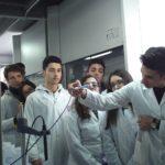 Studenti dell'ITG di Lamezia Terme nel Dipartimento Arpacal di Vibo