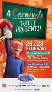 """Al Centro Commerciale Due Mari: Carnevale con la festa conclusiva di """"#innovalascuola""""!"""